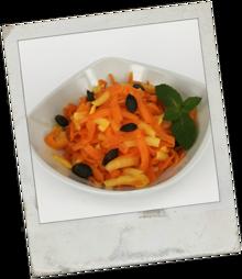Kürbis-Apfel Salat