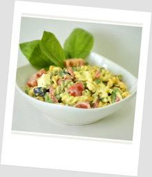 Pasta-Salat Tricolore